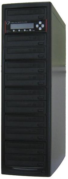 DVDデュプリケーター ハイエンドモデル(業務用) ビジネスPRO 1:10 デュプリケーター専用マルチドライブ搭載 DVD/CDコピー機