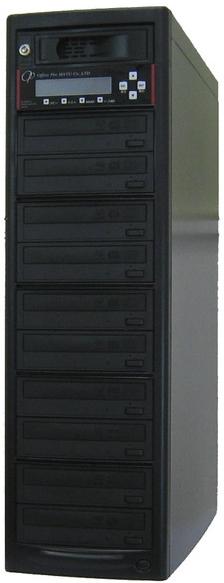 DVDデュプリケーター ハイエンドモデル(業務用) HDD搭載 ビジネスPRO 1:10 デュプリケーター専用マルチドライブ搭載 DVD/CDコピー機