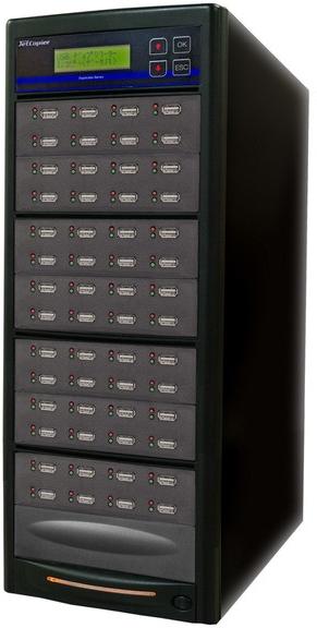 USBデュプリケーター JetCopier UBC-855B 1:55 USBコピー機
