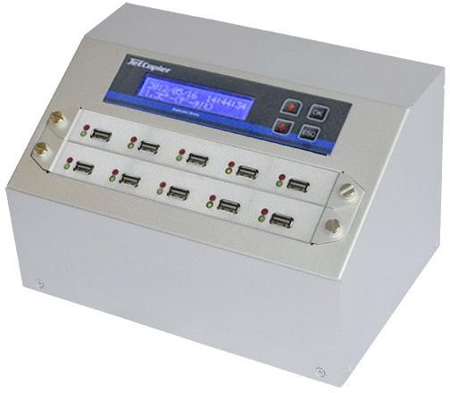 USBデュプリケーター JetCopier UBC-909H 1:9 USBコピー機