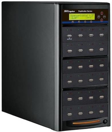 USBデュプリケーター JetCopier UBC-V123 1:23 USBコピー機