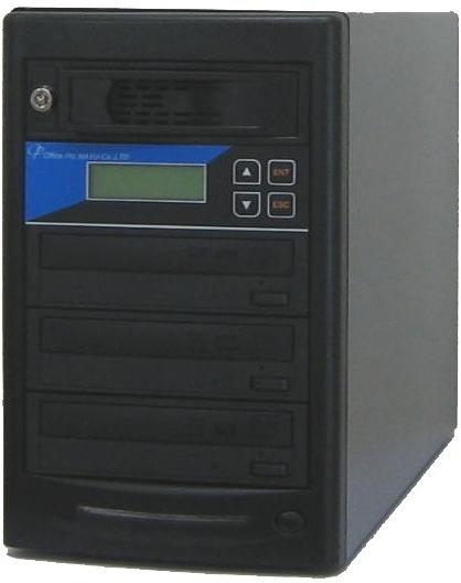 ブルーレイデュプリケーター ローエンドモデル(オフィスモデル) HDD搭載 1:3 高性能 PIONEER製ドライブ搭載 BD DVD CDコピー機