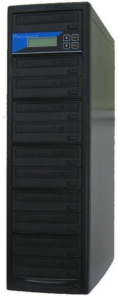 ブルーレイデュプリケーター ローエンドモデル(オフィスモデル) 1:10 高性能 PIONEER製ドライブ搭載 BD DVD CDコピー機