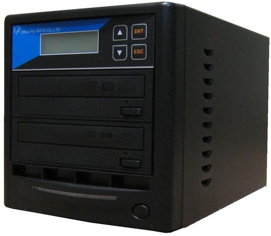 DVDデュプリケーター ローエンドモデル(オフィスモデル) 1:1 デュプリケーター専用マルチドライブ搭載