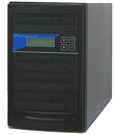 DVDデュプリケーター ローエンドモデル(オフィスモデル) 1:3 デュプリケーター専用マルチドライブ搭載