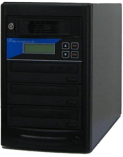 DVDデュプリケーター HDD搭載 ローエンドモデル(オフィスモデル) 1:3 LG電子ドライブ搭載