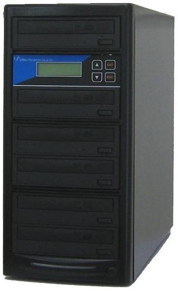DVDデュプリケーター ローエンドモデル(オフィスモデル) 1:5 デュプリケーター専用マルチドライブ搭載