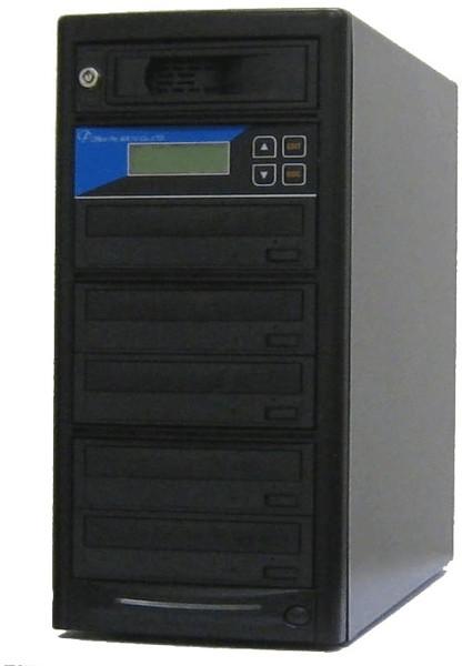 DVDデュプリケーター HDD搭載 ローエンドモデル(オフィスモデル) 1:5 デュプリケーター専用マルチドライブ搭載
