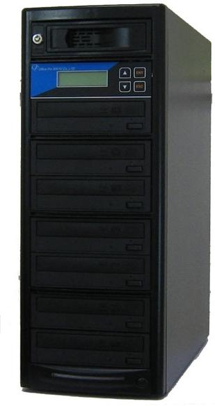 DVDデュプリケーター HDD搭載 ローエンドモデル(オフィスモデル) 1:7 デュプリケーター専用マルチドライブ搭載