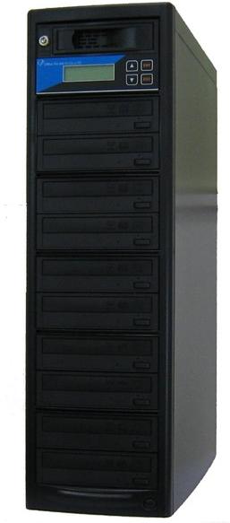 DVDデュプリケーター HDD搭載 ローエンドモデル(オフィスモデル) 1:10 LG電子ドライブ搭載