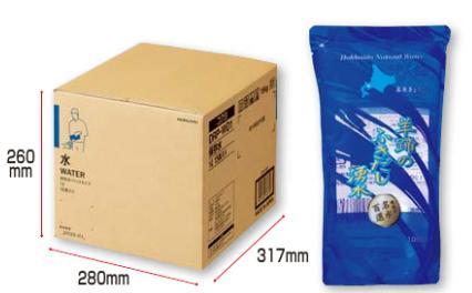 【メーカー直送の為代引き不可】保存水(パックタイプ・1L・15個入り)【コクヨKOKUYO】DRP-WD1お買い得10箱パック