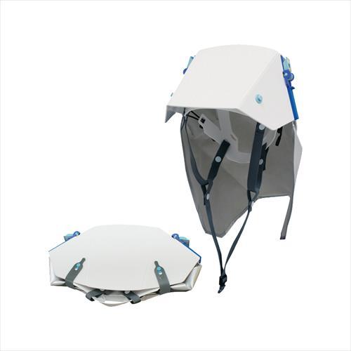 保管に場所をとらず 人気上昇中 省スペースに備蓄可能 タタメットズキン3 最新 防災ずきん 折りたたみ式ヘルメット