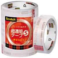 超透明テープS BK-24N 工業用包装 150巻【スリーエム ジャパン】