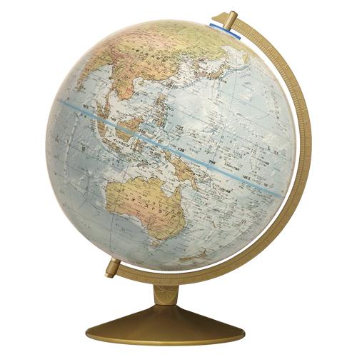 地球儀(和文)【リプルーグル】マリナー型(ワールド・オーシャン・シリーズ)