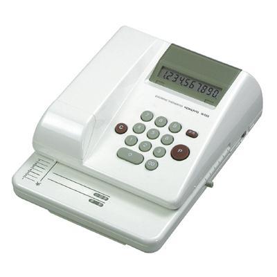 電子チェックライター10桁 リピート印字抹消機能  【KOKUYO】