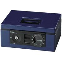 キャッシュボックス CB-8660 ブルー【カール事務器】