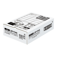 LBP用紙ラベル(カラー&モノクロ対応) A4 500枚入 24面カット LBP-F94N【コクヨ】