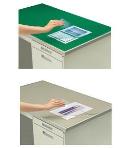 デスクマット 軟質(非転写)PVC-P 1号デスク用 【コクヨKOKUYO】マ-411サイズ1512×747