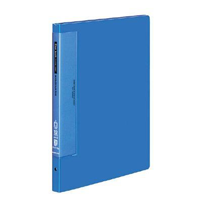 クリヤーブックウェーブカット替紙式A4縦 12枚青【コクヨKOKUYO】ラ-T710Bお買い得10冊パック