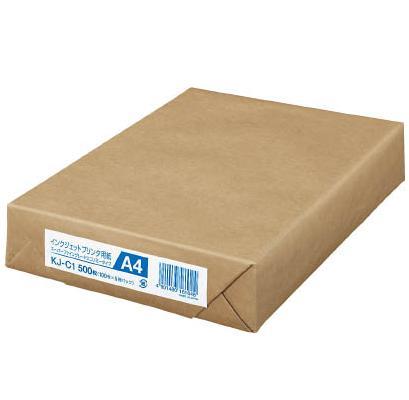 IJP用紙エコノミータイプ業務用パック  スーパーファイングレード A4 500枚入 【コクヨKOKUYO】KJ-C1お買い得10個パック
