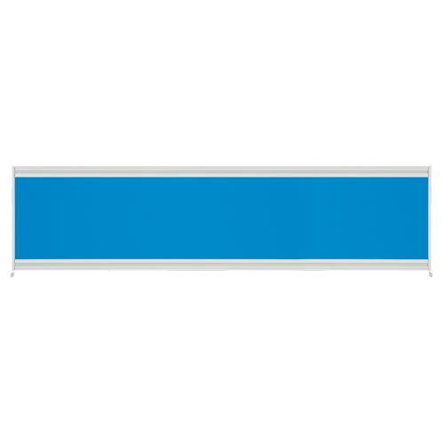 高さ720mm ラッチ機構標準搭載デスクシリーズ UJデスク UJ用デスクトップパネル 送料 組立費無料 UJデスクトップパネルW1600用 限定価格セール オリジナル プラス BL ブルー UJ-164P-J メーカー直送の為代引き不可