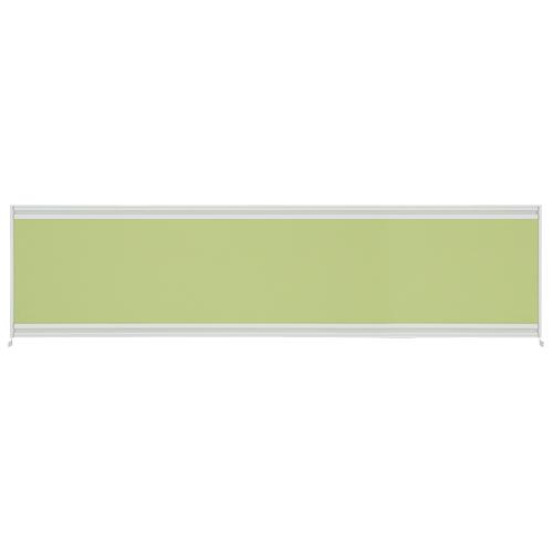 【送料・組立費無料】UJデスクトップパネルW1600用 イエローグリーン【プラス】UJ-164P-J YG 【メーカー直送の為代引き不可】