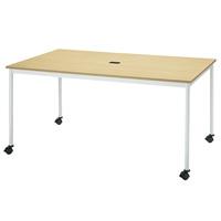 【メーカー直送の為代引き不可】テーブル【FRENZ】 RM-1590C NナチュラルW1500×D900