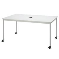 【メーカー直送の為代引き不可】テーブル【FRENZ】RM-1590C ホワイトW1500×D900