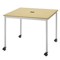 【メーカー直送の為代引き不可】テーブル【FRENZ】RM-990C NナチュラルW900×D900