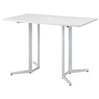 ハイテーブル【NK】KHH-1590-WH ホワイト【メーカー直送/の為代引き不可商品】W1500×D900×H1000mm