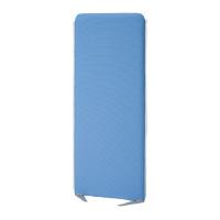 吸音スクリーン衝立式パネル【SEKI】 184585 H1500×W600mm GNブルー