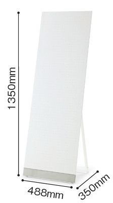 シンプル 掲示ボードM【コクヨ】GB-803【メーカー直送商品】【代金引換不可】