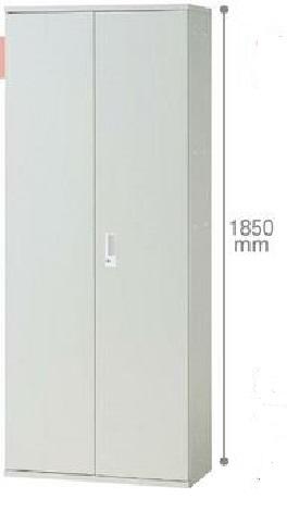 【プラス】JLストレージ 両開き保管庫 JL-A185A WH下置き用【メーカー直送商品】【代金引換不可】