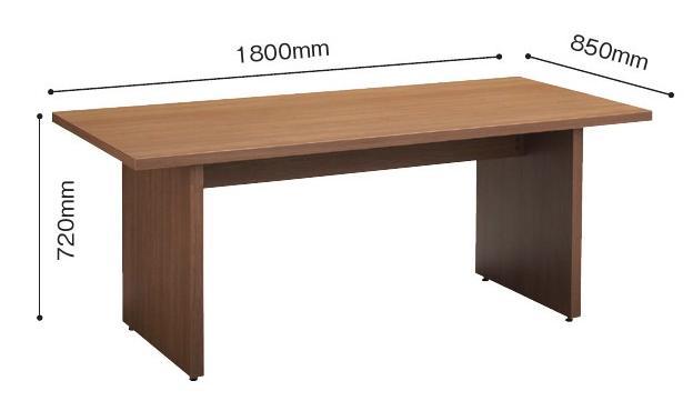 役員用 S370シリーズ会議テーブル ミディアムオーカー【コクヨKOKUYO】3色あります【メーカー直送商品】【代金引換不可】