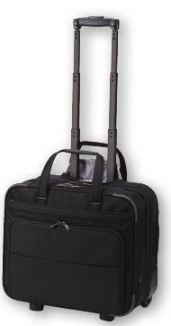 黒【コクヨ】カハ-ACE207D (PRONARD K-style)キャスタータイプ ビジネスバッグ