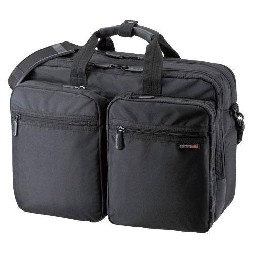 3WAYビジネスバッグ(出張用)【サンワサプライ】BAG-3WAY21BK