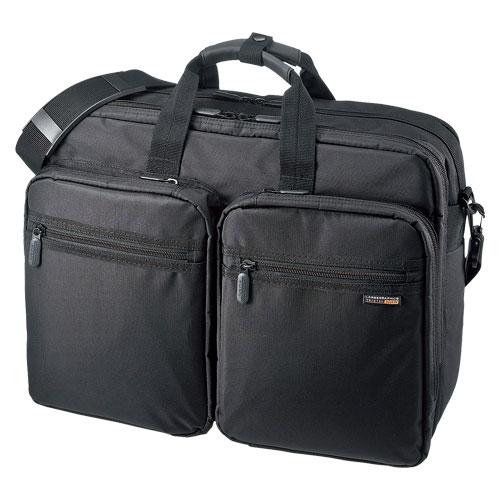 3WAYビジネスバッグ(出張用・大型)【サンワサプライ】 BAG-3WAY22BK