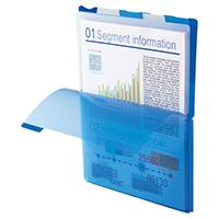 好評 大きく開くから書類の出し入れが簡単 3冊までゆうパケット対応可 スーパーハードホルダー 5山インデックス 776T タテ 当店は最高な サービスを提供します キングジム ワイドオープン透明