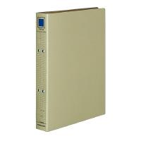 チューブファイル(保存用)クラフトボード A4縦 30mmとじ 2穴 グレー フ-VM630M【コクヨKOKUYO】お買い得100冊パック