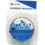 らくはる粘着テープ 30巻 カッター付き HS-45053-1【共和】