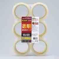 透明梱包用テープ 6巻 313 6PN【スリーエム ジャパン】100個