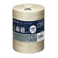 麻紐(ホビー向け)チーズ巻き 480m ホワイト ホヒ-35W【コクヨKOKUYO】【送料無料】お買い得20巻パック