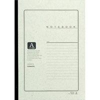 とじクロス巻ノートKT3A セミB5 普通罫10冊【キョクトウ・アソシエイツ】お買い得10冊×10パック