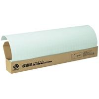 方眼模造紙プルタイプ50枚ブルー P152J-B6【ジョインテックス】