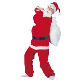 【アイコ】サンタクローススーツお買い得5着パック