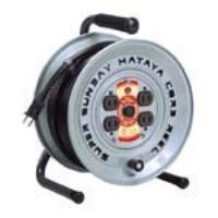 ケーブルの放熱効果を高める円盤の抜文字 スーパーサンデーリール 情熱セール 買い物 ハタヤリミテッド GV-50
