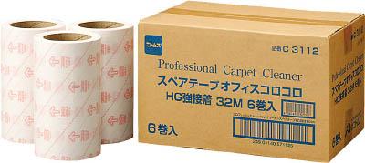 【ニトムズ】オフィスコロコロ スペアテープ強接着32M 6巻