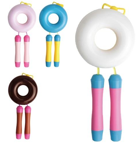 ドーナツみたいな かわいいなわとび 贈与 なわとび クイックス クイックスイート 入学祝いに QX-2822 縄跳び ソニック おトク 4色からお選びください