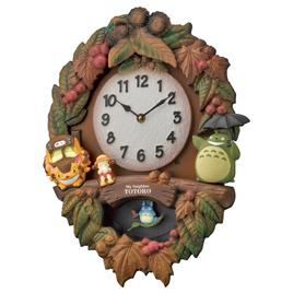 春新作の 【リズム時計】トトロの壁掛け時計, カニグン:53409cb3 --- medicalcannabisclinic.com.au