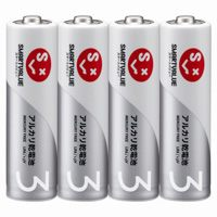 アルカリ乾電池 単3×400本 N123J-4P-100【ジョインテックス】